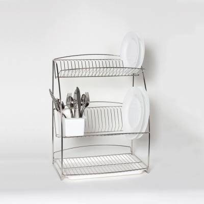 3 Tier Plate Rack  sc 1 st  Delfinware & 3 tier plate rack | WPP | Delfinware Household Products